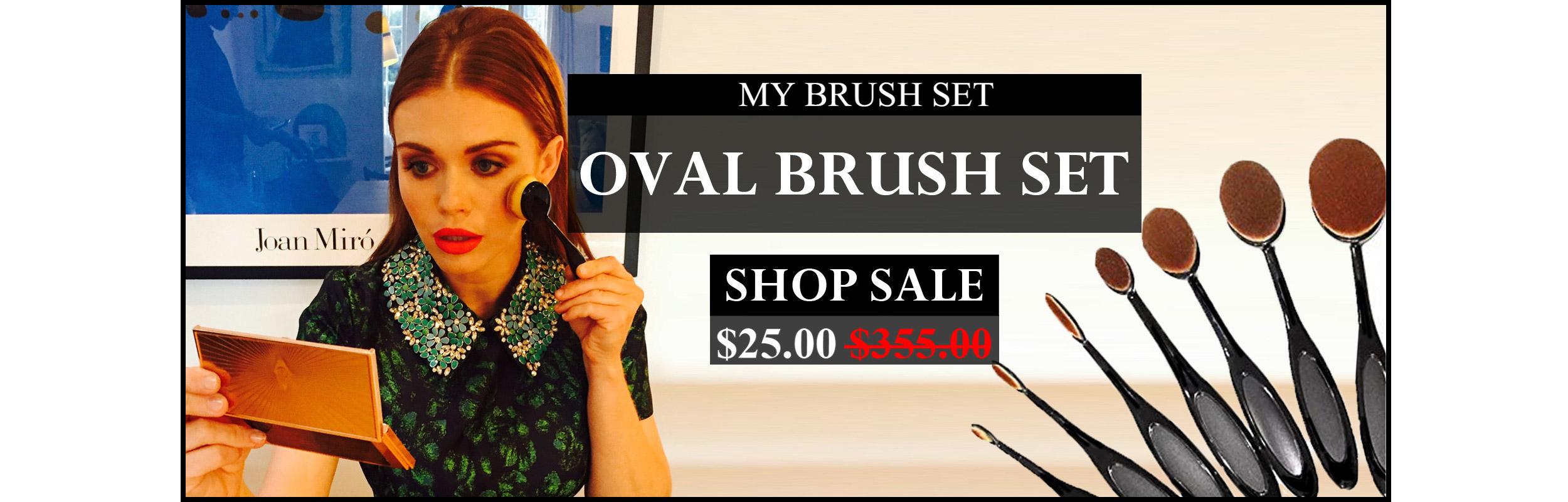 Oval Brush Set Sale