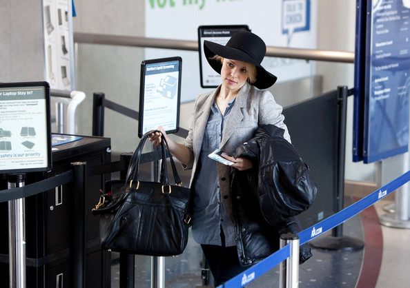 """""""Running through airports with pounds of luggage — that's a good workout."""" – Rachel McAdams, on secrets to keeping her weight down."""