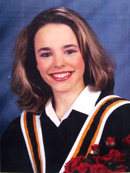 Rachel McAdams, in 2001, as a Toronto York University graduate.